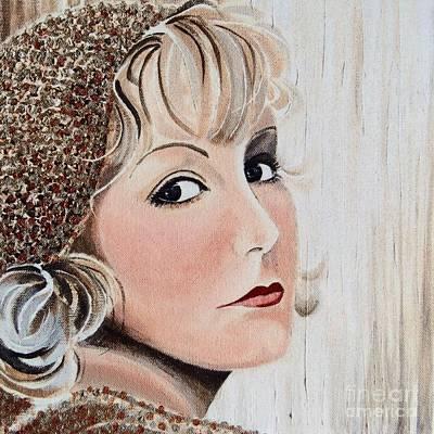 Greta Garbo Painting - Greta Garbo by Barbara Chase