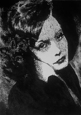 Lady Painting - Greta Garbo by Cherise Foster