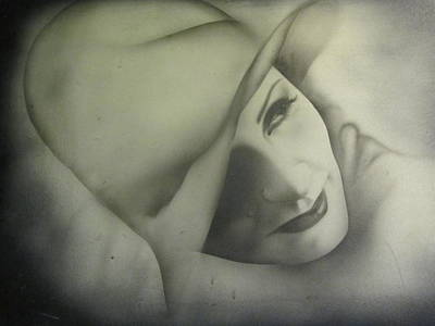 Photograph - Greta Garbo Series II by Shawn Hughes