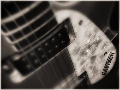 Gretsch Photograph - Gretsch Jet Guitar by Michael Demagall