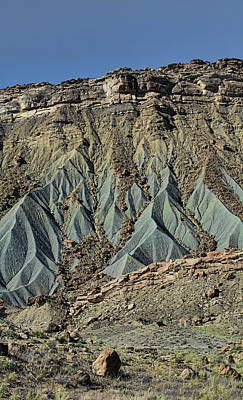 Photograph - Grey Cliffs In Waterpocket Fold  by Gregory Scott