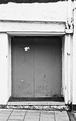Grey Door Art Print by Tom Gowanlock