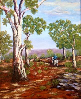 Painting - Grey Gums  by Renate Voigt