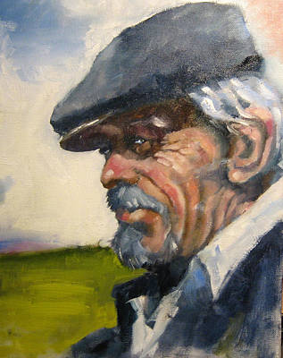 Painting - Grey Hat by Kevin McKrell