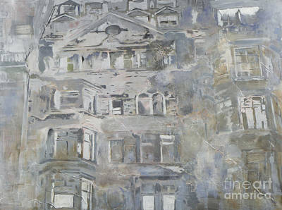 Dave Hancock Painting - Grey Mayfair by Dave Hancock