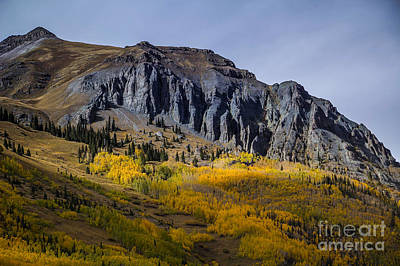 Photograph - Grey Mountain by Jim McCain