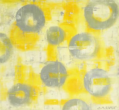 Painting - Grey Spheres by Barbara Anna Knauf