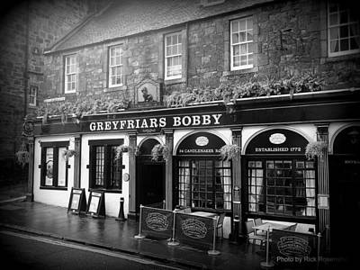 Greyfriars Bobby In Edinburgh Scotland  Art Print