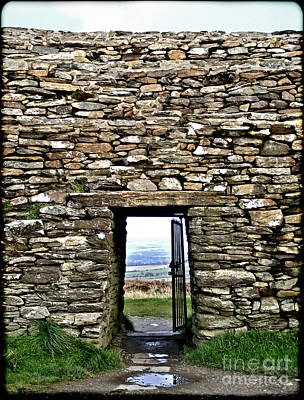 Photograph - Grianan Of Aileach - Door To The World by Nina Ficur Feenan