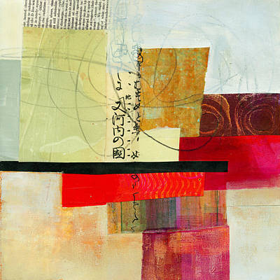Grid Painting - Grid 2 by Jane Davies