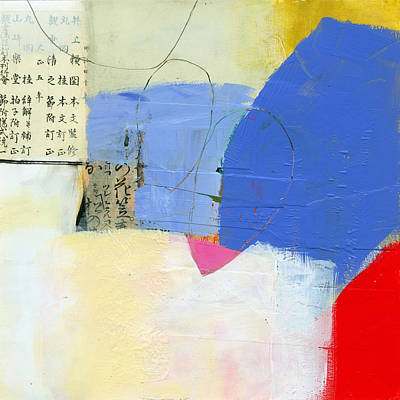 Grid Painting - Grid 7 by Jane Davies