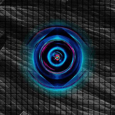 Digital Art - Grid by Coal