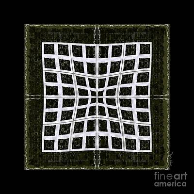 Digital Art - Grid Work -no2 by Darla Wood