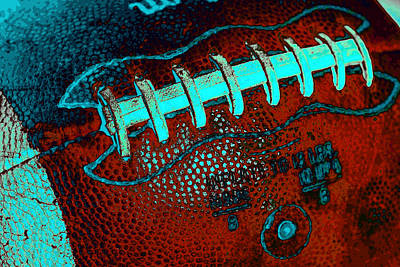 Gridiron Tool - The Football Art Print by David Patterson