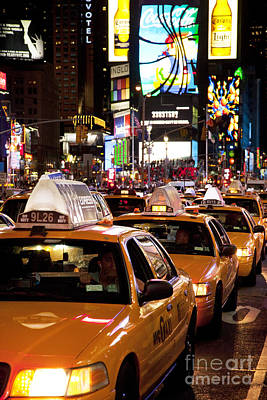 Photograph - Gridlock Times Square by Brian Jannsen