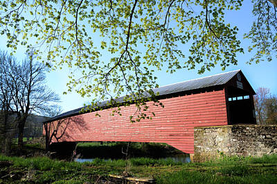 Griesemer's Covered Bridge Print by Bill Cannon