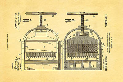 Griffin Photograph - Griffin Confetti Maker Patent Art 1912 by Ian Monk