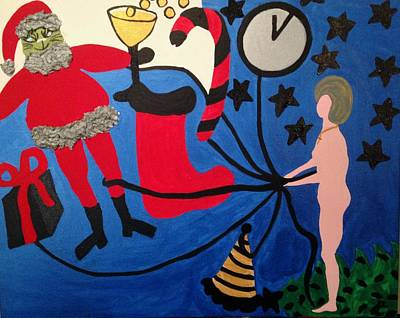 Painting - Holidays by Erika Chamberlin