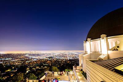 Photograph - Griffith Observatory 1 by Jason Chu