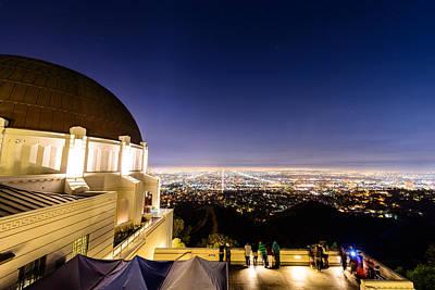Photograph - Griffith Observatory 2 by Jason Chu