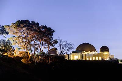 Photograph - Griffith Observatory 3 by Jason Chu