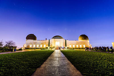 Photograph - Griffith Observatory By Night 1 by Jason Chu