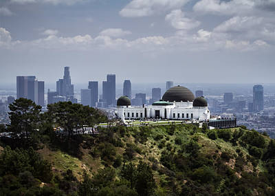 Photograph - Griffith Observatory by Eduard Moldoveanu