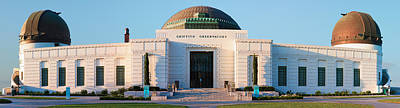 Photograph - Griffith Observatory Los Angeles California Panorama by Ram Vasudev