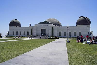 Griffith Observatory, Los Angeles Print by Science Photo Library