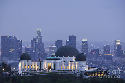 Griffith Observatory Los Angeles Art Print