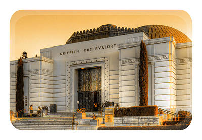 Griffith Observatory - Mike Hope Art Print