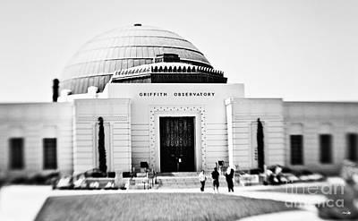Griffith Observatory Art Print by Scott Pellegrin