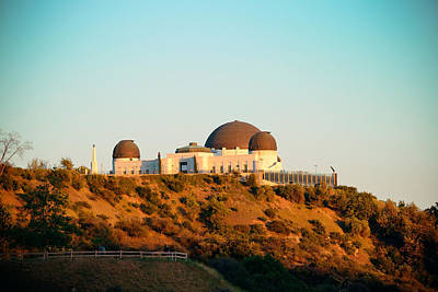 Photograph - Griffith Observatory  by Songquan Deng