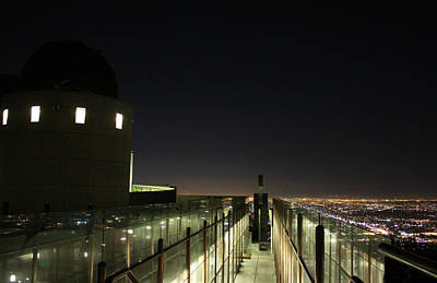 Parks - Griffith Observatory Walkway by Laurie Larson