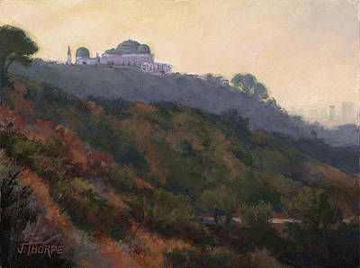 Griffith Park Observatory- Late Morning Art Print