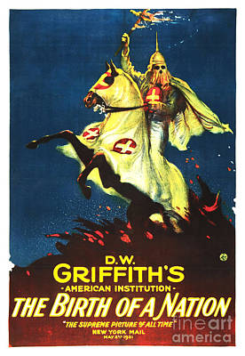 Griffith's Birth Of A Nation Art Print