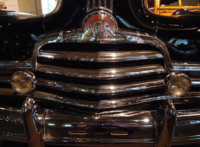 Photograph - Grille 1947 Pontiac by John Schneider