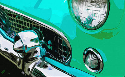 Grille Chill Art Print