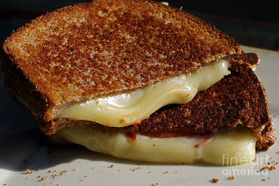 Grilled Cheese Art Print by Denise Pohl