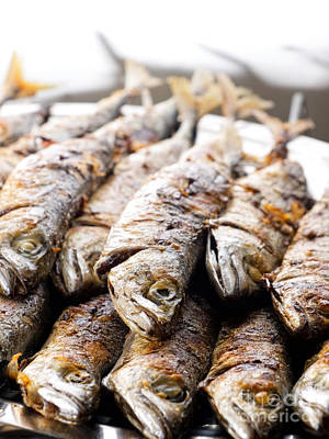 Grilled Fish Photograph - Grilled Fish by Sinisa Botas
