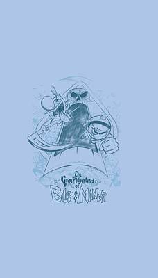 Grim Digital Art - Grim Adventures Of Billy And Mandy - Sketched by Brand A