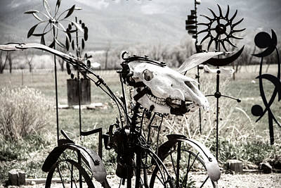 Whirly Photograph - Grim Reaper Rides Again by Steven Bateson