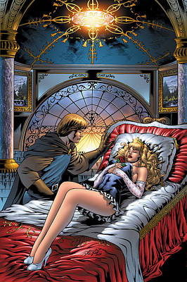 Tale Drawing - Grimm Fairy Tales 05 by Zenescope Entertainment