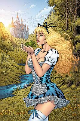 Mather Digital Art - Grimm Fairy Tales 10 by Zenescope Entertainment