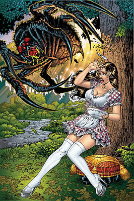 Grimm Fairy Tales 16 Art Print by Zenescope Entertainment