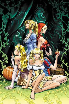 Grimm Fairy Tales 2010 Annual Art Print