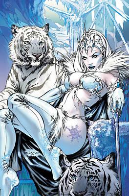 Grimm Fairy Tales 22 Art Print by Zenescope Entertainment