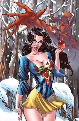 Drawing - Grimm Fairy Tales 41a Sela Mathers by Zenescope Entertainment