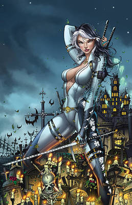 Grimm Fairy Tales Unleashed 02a - Masumi Print by Zenescope Entertainment