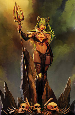Goblin Mixed Media - Grimm Universe 03a by Zenescope Entertainment